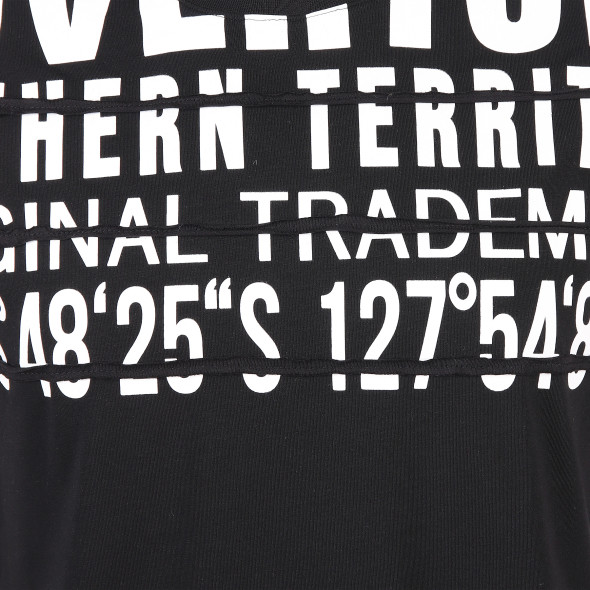 Herren T-Shirt mit Arm Panel
