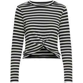 Only  ONLAMANDA L/S TWIST T Streifenshirt