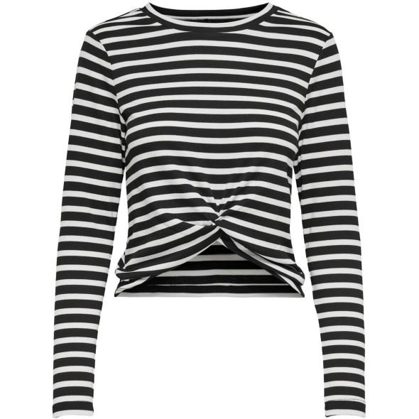 Only  ONLAMANDA L/S TWIST T Streifenshirt