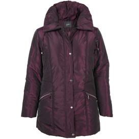 Große Größen Jacke mit hohem Stehkragen