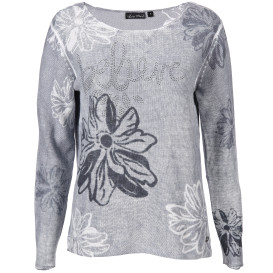 "Damen Pullover mit ""Inside-Out"" Print"