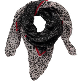Damen Schal mit Leoprint
