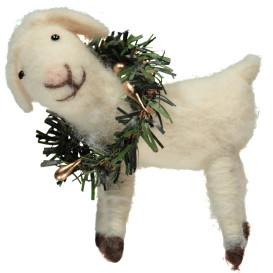 Schaf aus Filzwolle, 9cm hoch