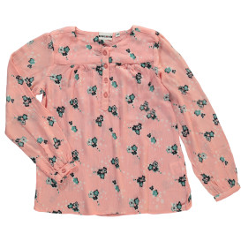 Mädchen Bluse im Crinclelook