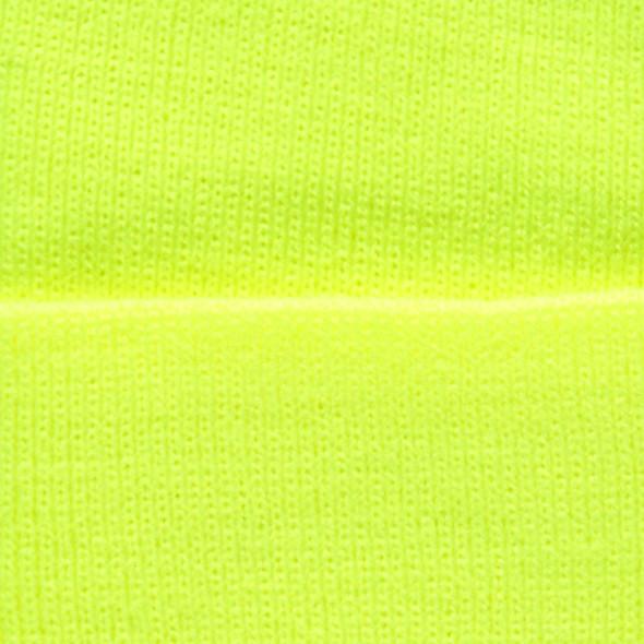 Herren Strickmütze in Neonfarbe