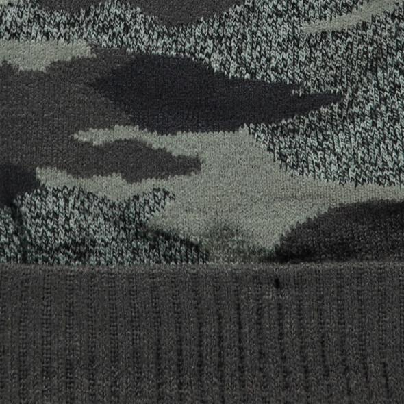 Jungen Strickmütze in Camouflage
