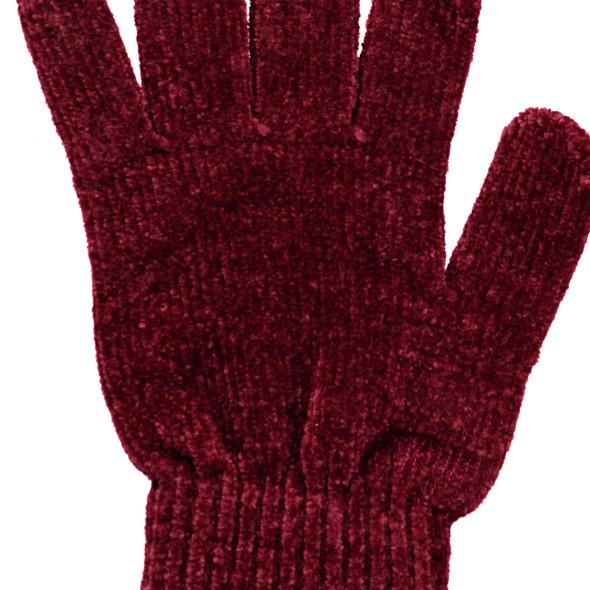 Mädchen Fingerhandschuhe aus weichem Chenille