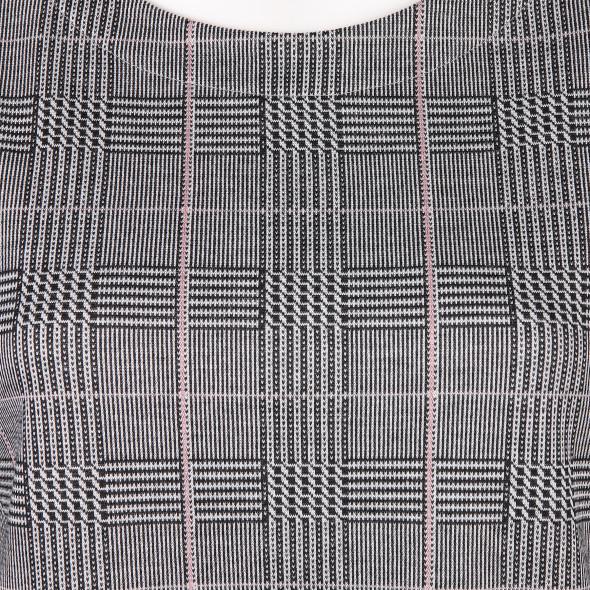 Damen Jaquard Shirt im Glencheckmuster