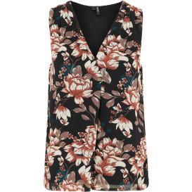 Vero Moda VMWILMA SL V-NECK TOP Top im floralen Print