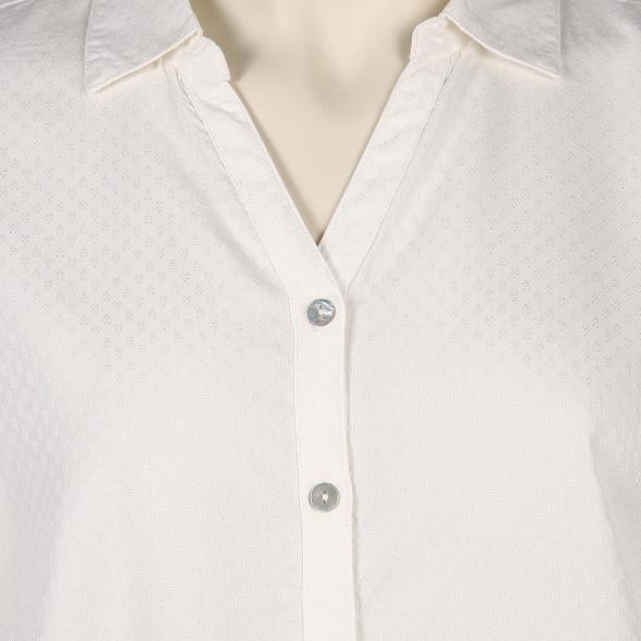 Große Größen Bluse mit zartem Muster