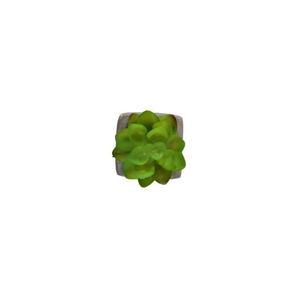 Mini Fake Pflanze mit Topf 5x5x8cm