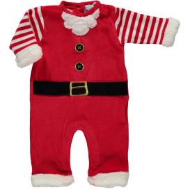 Baby Strampler in weihnachtlichem Dessin