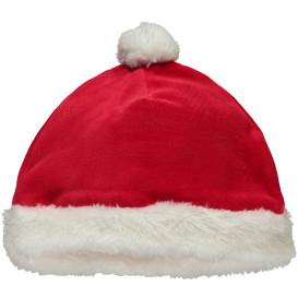 Baby Weihnachtsmütze mit Bommel