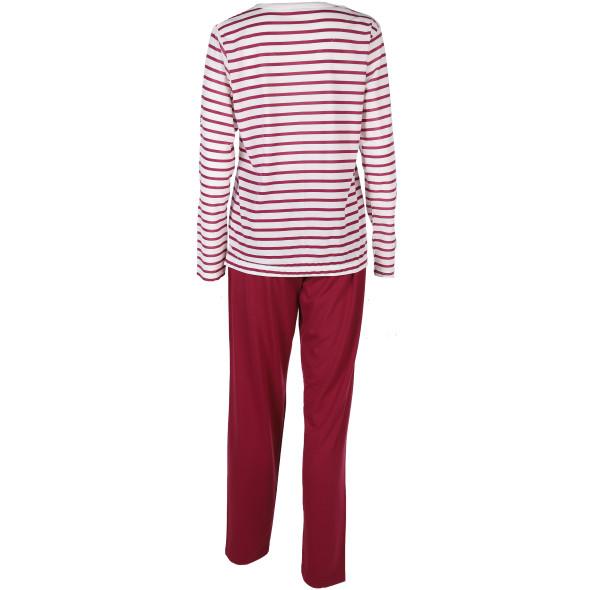 Damen Schlafanzug mit Streifen