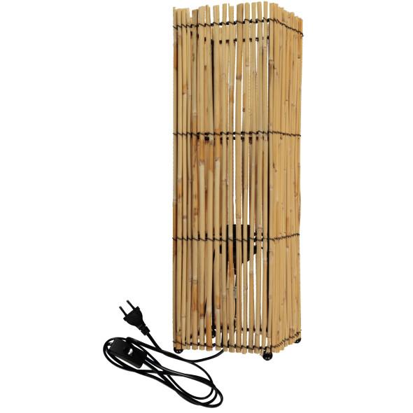 Bambus Leuchte H. 52cm