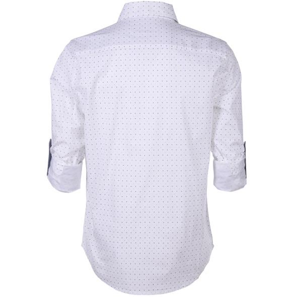 Herren Freizeit Hemd mit Minimalprint