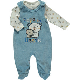 Baby Jungen Strampler Set bestehend aus Shirt und Strampler