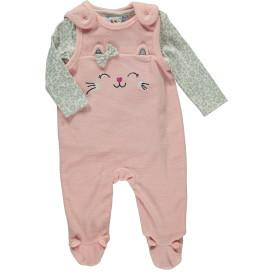 Baby Mädchen Strampler Set bestehend aus Shirt und Strampler