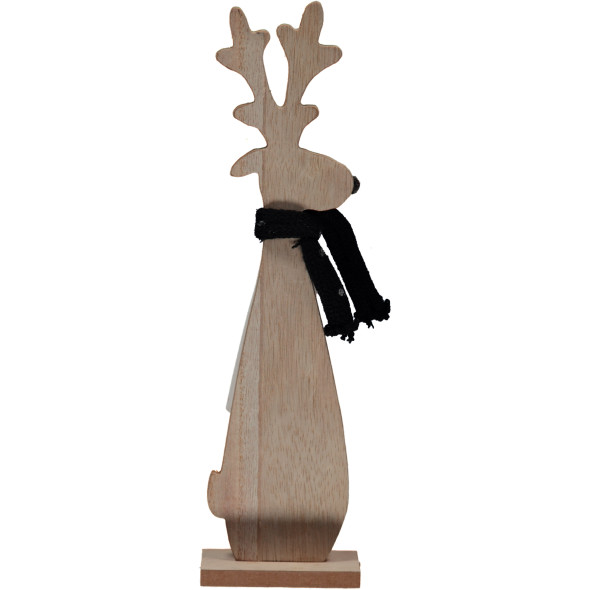 Rentier Carlon mit Schal 30cm