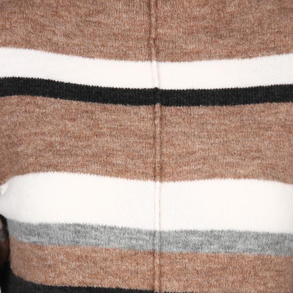 Damen Strickpullover mit Streifen