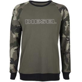 Herren Diesel Sweatshirt mit Camouflage Details