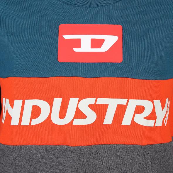Herren Diesel Sweatpullover im Colorblocking