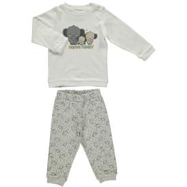 Baby Pyjama Set mit Elefantenprint