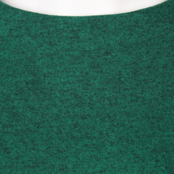 Damen Flausch-Shirt in melierter Optik