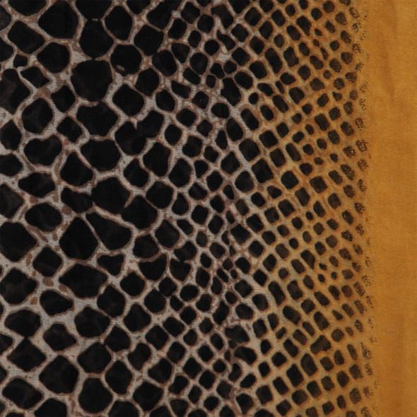 Damen Schal mit Schlangenprint