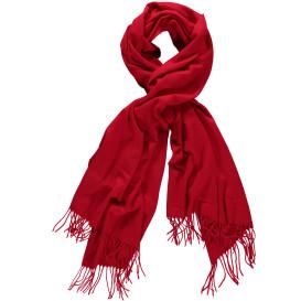 Damen Schal mit Fransen