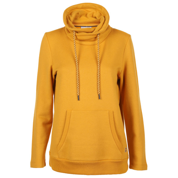 Damen Sweatshirt mit Kängurutaschen