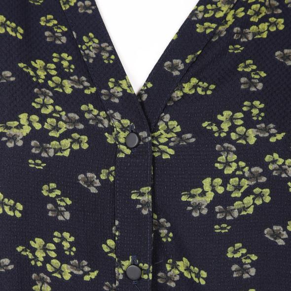 Damen Bluse mit Blumendruck
