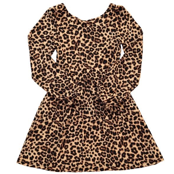 Mädchen Kleid im Leolook