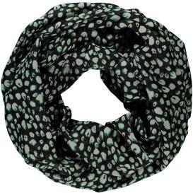 Damen Loop im abstrakten Leoprint