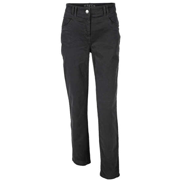 Damen Hose in 5-Pocket-Form, Slimfit mit Thermofeeling