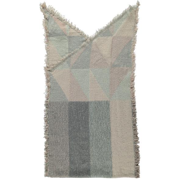 Damen Schal mit Pailletten und Fransen