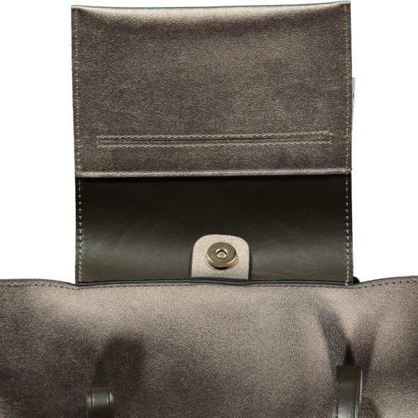 Damen Schultertasche aus Kunstleder
