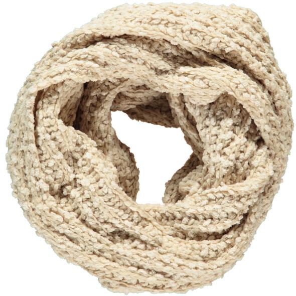 Damen Chenille Strick-Loop