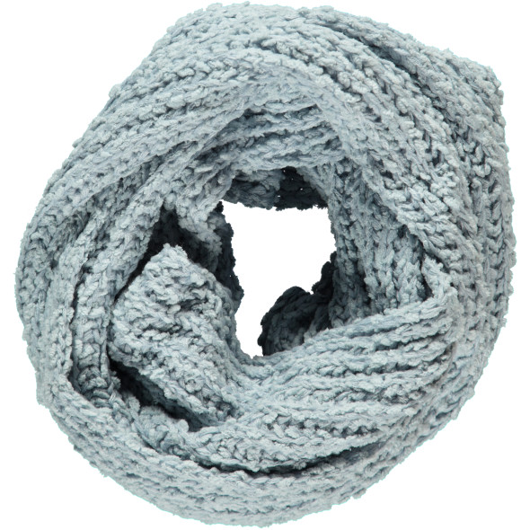 Damen Chenille Strick-Loop