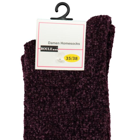 Damen Chenille Socken