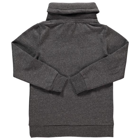 Jungen Sweatshirt mit Flockprint und Stickerei