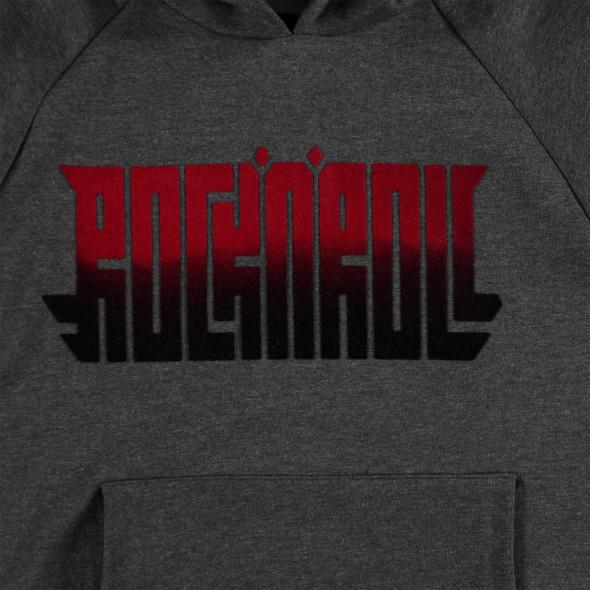 Jungen Sweatshirt mit geflocktem Frontprint