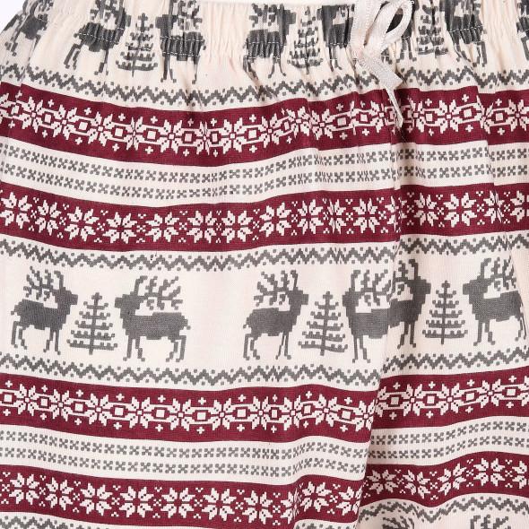 Damen Pyjamahose mit hübschem Motiv
