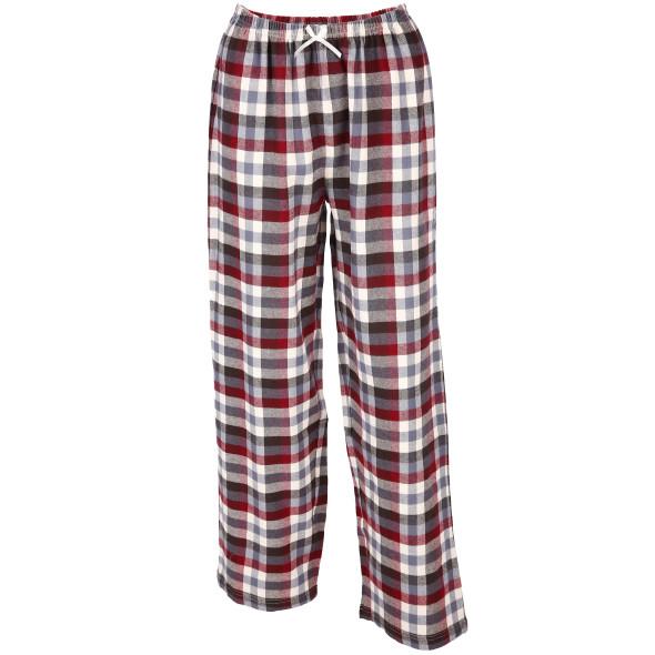 Damen Pyjamahose im Karolook
