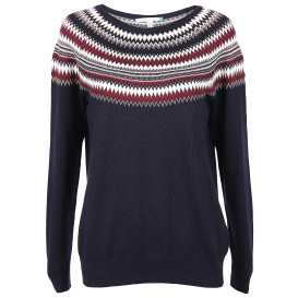 Damen Pullover mit hübschem Jacquardmuster