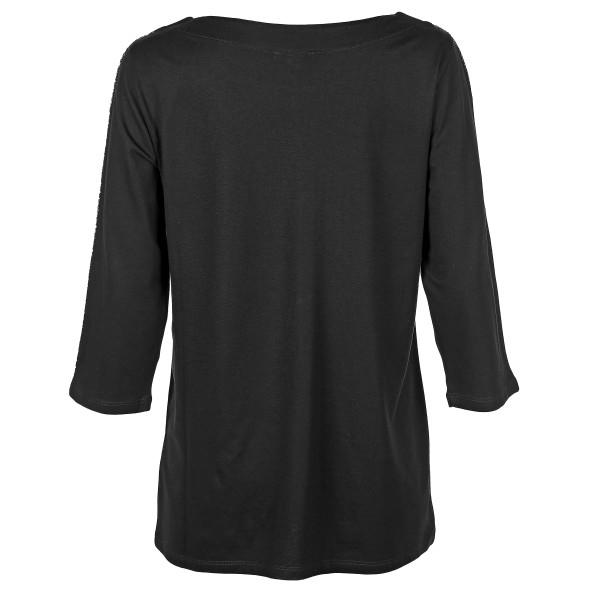 Damen Shirt mit Galonstreifen