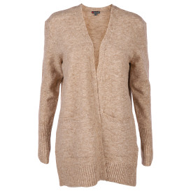 Damen Strickjacke in melierter Optik