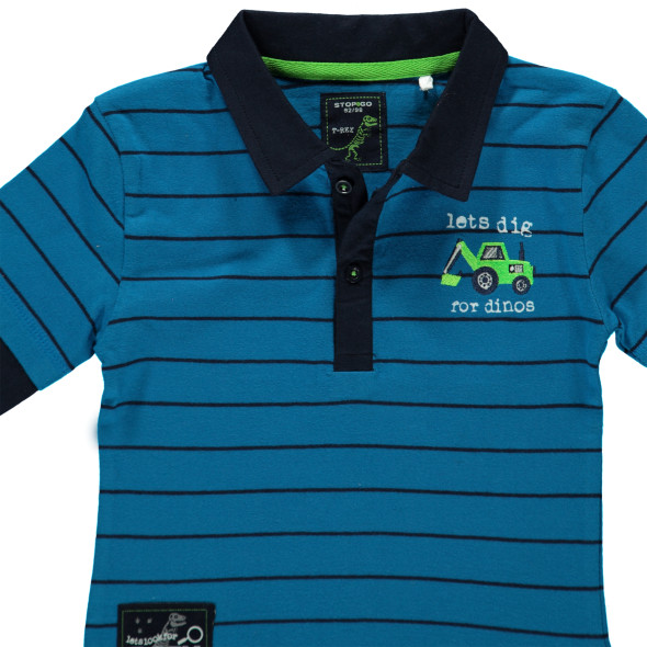 Jungen Poloshirt in 2 in 1 Optik