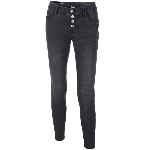 Damen Jeans mit Crash Effekt