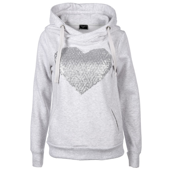 Damen Sweatshirt mit Paillettenprint